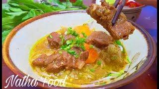 Bò kho, hủ tiếu bò kho nấu quá đơn giản mà ngon đậm đà   Natha Food