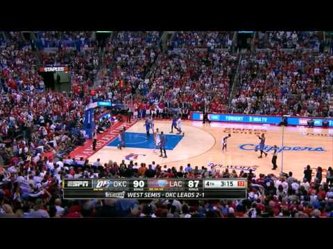 Clippers Game 4 Comeback Win vs Thunder - Fourth Quarter Highlights