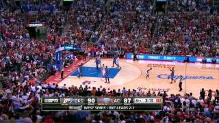Repeat youtube video Clippers Game 4 Comeback Win vs Thunder - Fourth Quarter Highlights