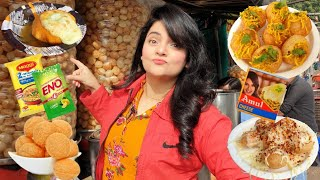 Living on GOLGAPPA for 24 HOURS Challenge | Food Challenge