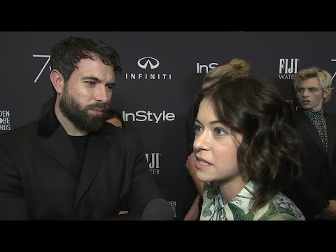 Tatiana Maslany and Tom Cullen face fame together
