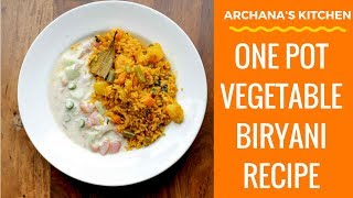 One Pot Vegetable Biryani With Electric Pressure Cooker