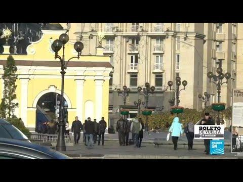 Maidan, el epicentro de una revolución en Ucrania