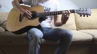3 Doors Down - Here Without You [Acoustic Guitar Cover] FULL HD