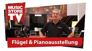 Die neue Piano & Flügelausstellung im MUSIC STORE - Ein Rundgang