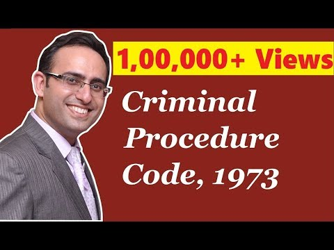 Introduction to Criminal Procedure Code 1973
