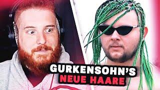 Unge REAGIERT auf Gurkensohn's NEUE HAARE  🥒 ungespielt Reaktion