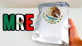 PROVEI A COMIDA DO EXÉRCITO DO MÉXICO !! MUITA PIMENTA ?? ( MRE - ÁREA SECRETA )