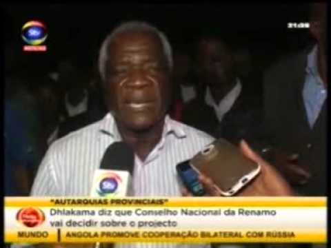 STV Dhlakama em Chimoio 07 06 2015