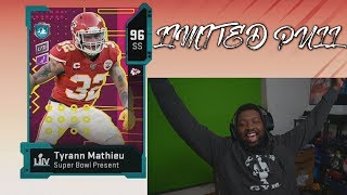 WE PULLED THE LIMITED!!! | 1 Million Coins In Training Rerolling For Limited Time Tyrann Mathieu