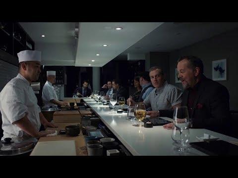 Billions - Wags Sushi Scene