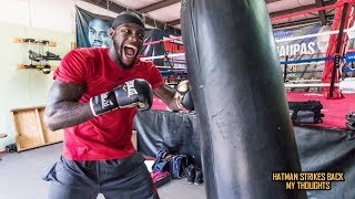 DEONTAY WILDER DEMONSTRATES HOW POWER IS DEVELOPED!!!