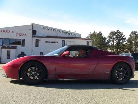 TFLcar.com - Tesla Roadster Rocky Mountain Road Trip