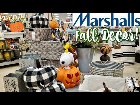 MARSHALL'S FALL DECOR PUMPKINS & MORE * SHOP WITH ME 2019