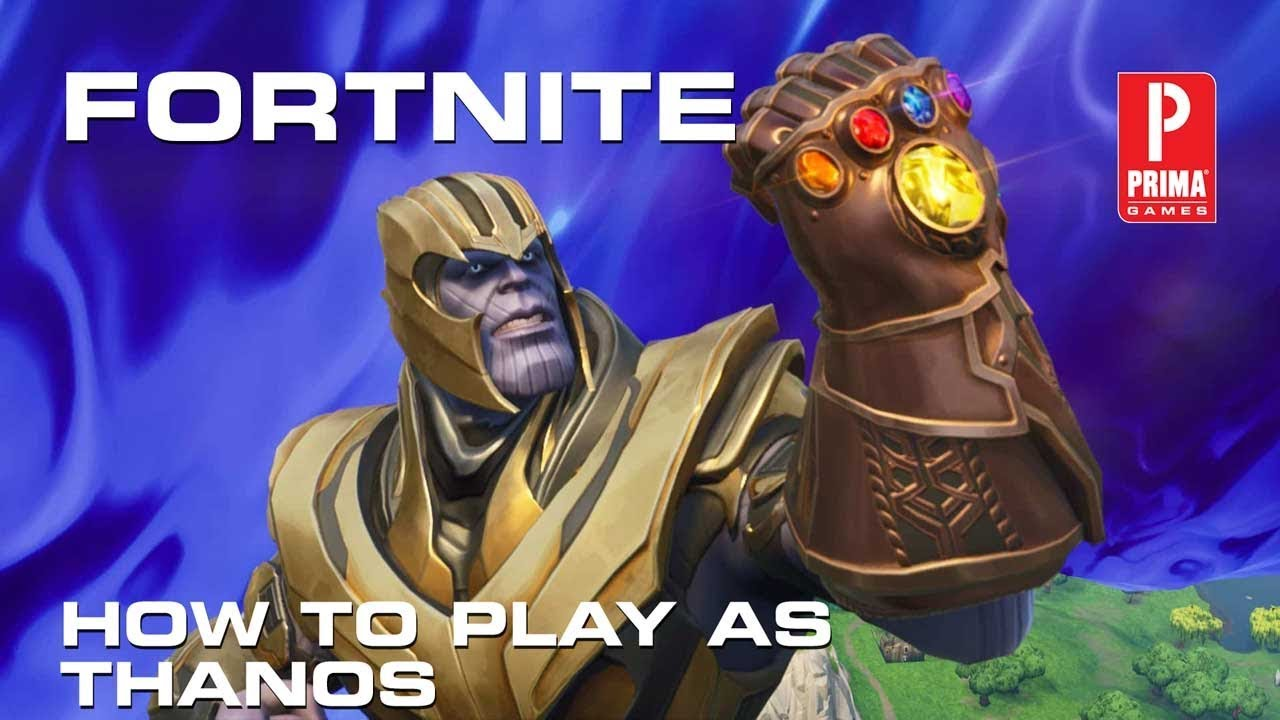 Fortnite How To Play As Thanos In The Infinity Gauntlet Mashup