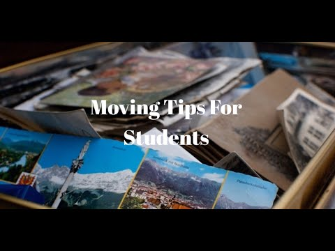 Moving Tips For Students