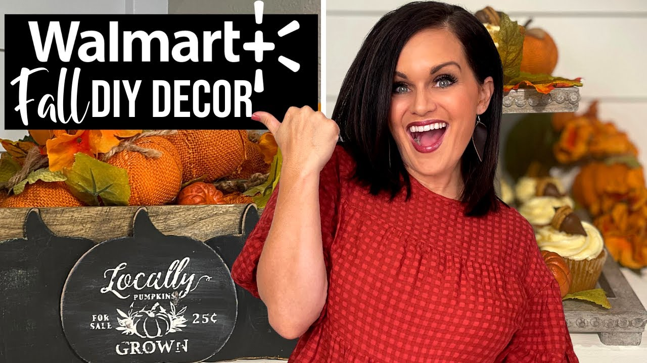 Download ⭐️Walmart Fall DIY DECOR Ideas That'll Wow! (Mystery Box Challenge)