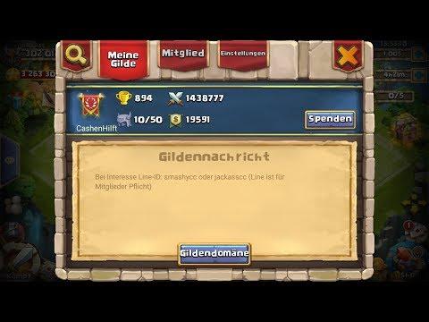 """Castle Clash - Die Gilde """"CashenHilft"""" sucht neue Spieler - [ja©kAss]"""
