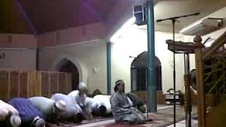Maghrib salaah at the Barrackpore Islamic Centre