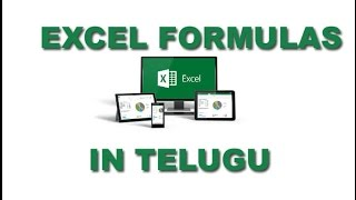 Excel formulas in telugu [www.timecomputers.in]