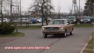 Ford Mustang Coupe 1965 ( build in 1964) V8 289 A code 225 PS Special Cars Berlin