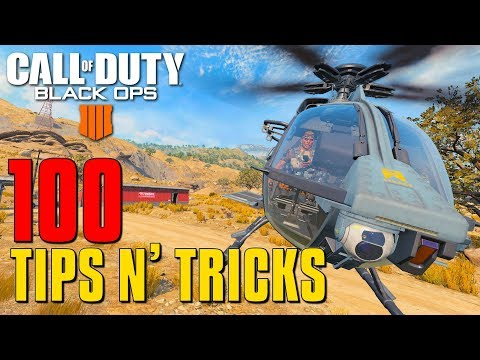 100 Blackout Tips And Tricks - LEARN IT ALL! | Black Ops 4