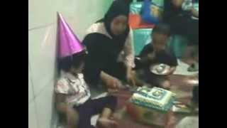 Ulang Tahun Amel yg ke 3 tahun