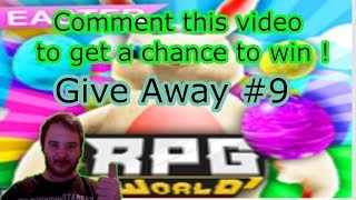 One chance to win 4 gladiators ! RPG World give away #9 -Roblox
