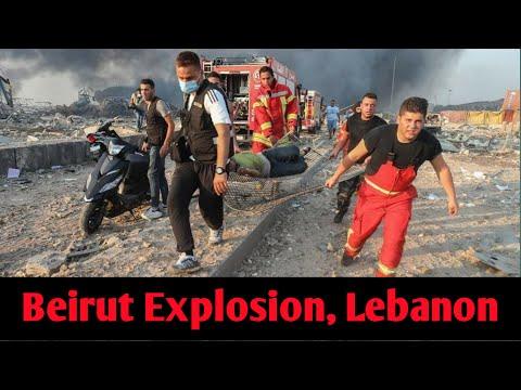 Lebanon Explosion | Beirut Blast | Beirut Blast in Hindi | A Massive Explosion in Beirut