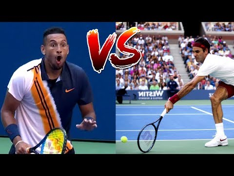 The Most Creative Match-Up In Tennis History (Federer VS. Kyrgios)