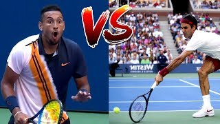 Download The Most Creative Match-Up in Tennis History (Federer VS. Kyrgios) Mp3 and Videos