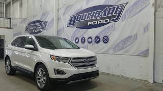 2018 Ford Edge Titanium 302A W/ 2.0L EcoBoost, Command Start Overview I Boundary Ford