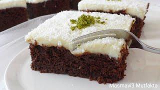 En Güzel YAŞKEK Tarifi-Sütlü  Kremalı+ Çikolata Soslu▪Masmavi3mutfakta▪