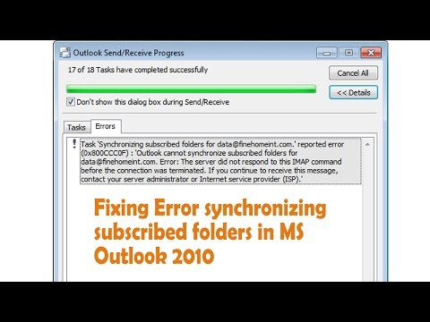 Synchronizing Subscribed Folders Outlook 365
