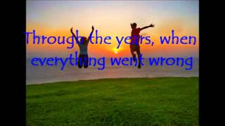 Through The Years  - Kenny Rogers ( with lyrics )