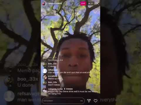 Memo 600 Dissing Wooski The Day After He Was Shot In The Head at a Funeral