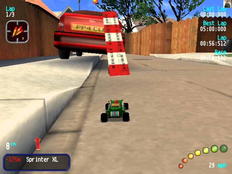 Re Volt Old Car Racing Game Worst Driving Ever Youtube