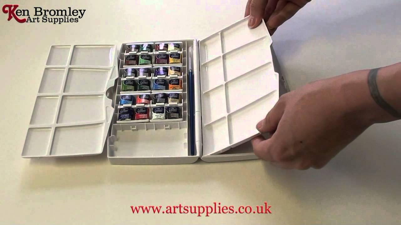 w n cotman 24 half pan painting plus youtube