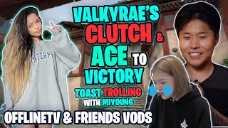 Valkyrae Sings In Tagalog \u0026 ACE To Victory L Toast Trolling With Miyoung L Sykkuno Got Emotional