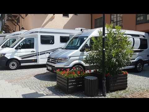 VW Crafter campervan : Knaus Box Drive 680ME 2020 version