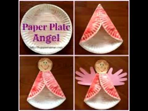 Easy Craft Ideas About Paper Plates And Cups Youtube