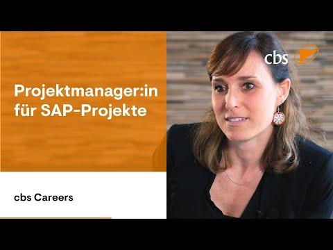 Projektmanager Für SAP-Projekte Erzählen Aus Ihrem Job Bei Cbs Corporate Business Solutions