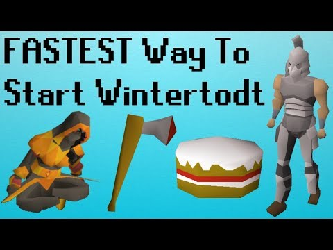 [OSRS] FASTEST Way to Start Wintertodt on a NEW Ironman Account
