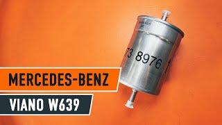 Hoe een brandstoffilter vervangen op een MERCEDES VITO W639 [HANDLEIDING AUTODOC]