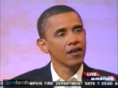 Barack Obama on Faith Based Initiatives