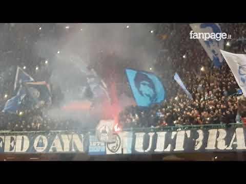 Un giorno all'improvviso: il San Paolo in festa dopo Napoli-Lazio