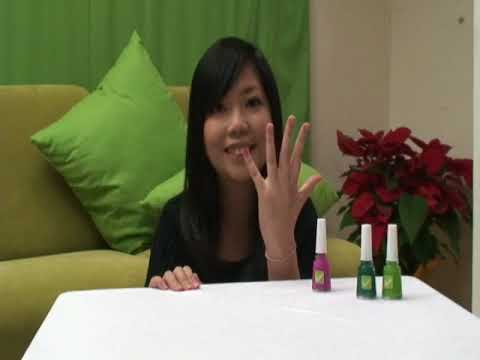 How to wear the IRENE'S LEGS non-toxic nail polish?