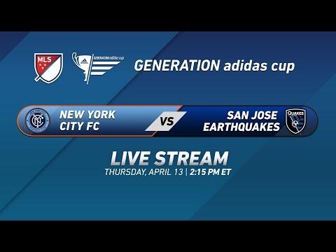 New York City FC vs. San Jose Earthquakes | 2017 Generation adidas Cup