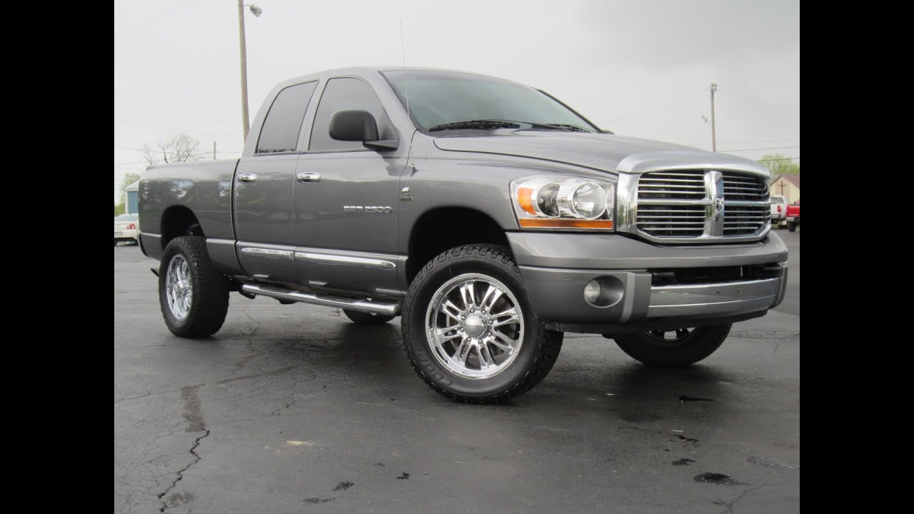 2006 Dodge Ram 2500 Laramie 4x4 5 9l Cummins Charcoal Gray