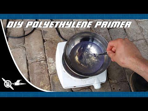 DIY polyethylene primer